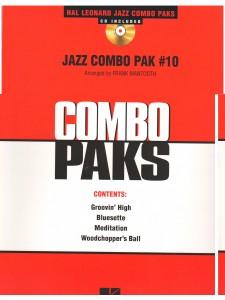 Jazz combo Pak 10 (book/CD)