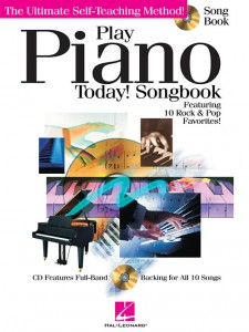 Play Piano Today! Songbook (book/CD play-along)