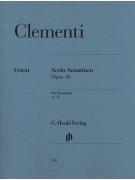 Clementi - Six Sonatinen Op. 36