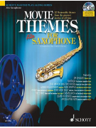 Movie Themes for Saxophone (book/CD play-along)