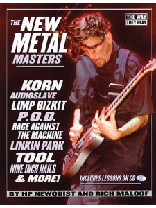 The New-Metal Masters (book/CD)