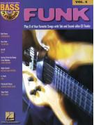 Funk: Bass Play-Along Volume 5 (book/CD)