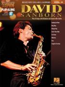 David Sanborn: Saxophone Play-Along Volume 8 (book/Audio Online)
