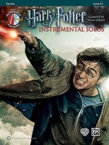 Harry Potter Instrumental Solos Clarinet (book/CD play-along)