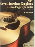 Great American Songbook for Solo Fingerstyle Guitar (book/CD)