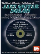 Master Anthology of Jazz Guitar Solos Volume 3 (book/CD)