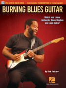 Burning Blues Guitar (book/Video Online)