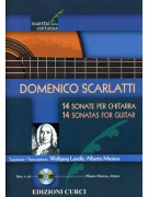 Domenico Scarlatti: 14 Sonate per chitarra (libro/CD)