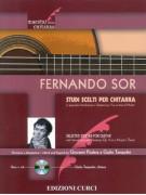 Fernando Sor: Studi scelti per chitarra (libro/CD)