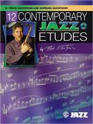 12 Contemporary Jazz Etudes - C Instruments (book/CD)