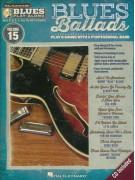 Blues Play-Along Volume 15: Blues Ballads (book/CD)