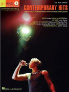 Pro Vocal: Contemporary Hits Male Singers (book/CD sing-along)
