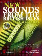 New Sounds from the British Isles for Accordion (book/CD)