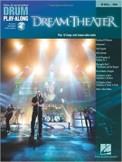 Dream Theater: Drum Play-Along Volume 30 (book/Audio Online)