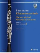 Clarinet Method, op. 63 Volume 2 (book/2 CD)