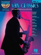 Sax Classics: Saxophone Play-Along Volume 4 (book/CD)
