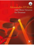 Odd Meter Grooves For Drumset (book/CD MP3)