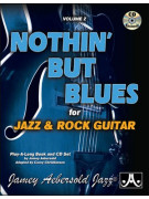 Aebersold Vol.2 - Nothin' But The Blues for Jazz Rock Guitar (book/CD)