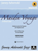 Maiden Voyage Edizione Italiana (book/CD play-along)