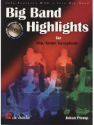 Big Band Highlights for Alto/Tenor Saxophone (book/CD)