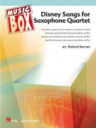 Disney Songs For Saxophone Quartet