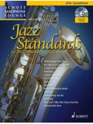 Jazz tandards For Alto Saxophone (book/CD)
