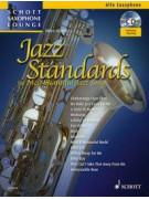 Jazz tandards For Alto Saxophone (book/CD)