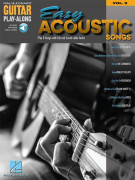 Easy Acoustic Songs: Guitar Play-along volume 9 (book/Audio Online)