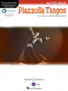 Piazzolla Tangos - Instrumental Play-Along for Alto Sax (Book/Audio Online)