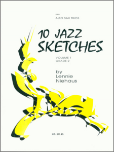 10 Jazz Sketches for Tenor Sax Trio 3