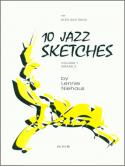 10 Jazz Sketches for Alto Sax Trios Vol.  1