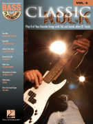 Classic Rock: Bass Play-Along Volume 6 (book/CD)