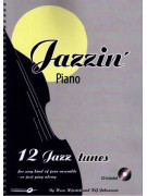 Jazzin' Piano - 12 Jazz Tunes (book/CD play-along)