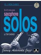Saxophone Solos Vol. 2: Over Modal Classics (book/CD)