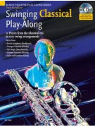 Swinging Classical Play-Along - Tenor Sax (book/CD)