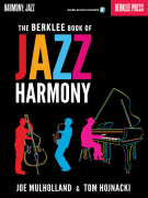 The Berklee Book Of Jazz Harmony (book/Audio Online )