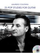 25 Pop Studies for Guitar (libro/CD)