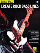 How to Create Rock Bass Lines (book/Audio Online)