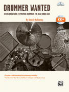 Drummer Wanted (book/CD MP3)