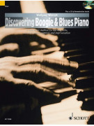 Discovering Boogie & Blues Piano Method (book/CD)