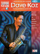 Dave Koz: Saxophone Play-Along Volume 6 (book/Audio Online)