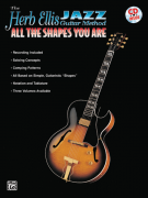 Jazz Guitar Method-All the Shapes You Are (book/CD)