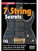 Lick Library - Ultimate Guitar Lessons: 7 String Secrets (DVD)