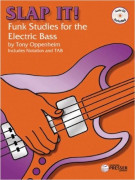 Slap It! Funk Studies for the Electric Bass (book/CD)