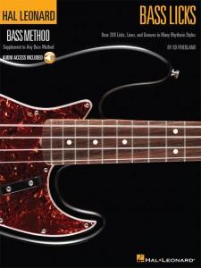 Hal Leonard Bass Method: Bass Licks (book/CD)