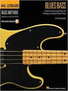 Hal Leonard Bass Method: Blues Bass (book/Audio Online)CD)