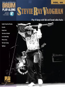 Drum Play-Along Volume 40: Stevie Ray Vaughan (book/Audio Online)