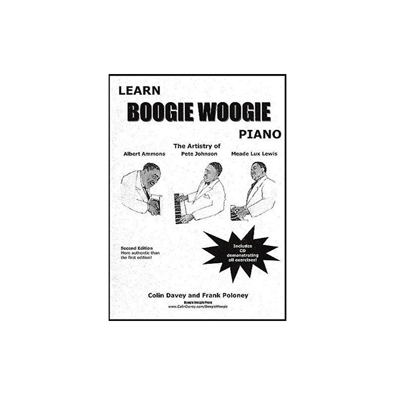 Download Learn Boogie Woogie Piano - Colin Davey - CD ...
