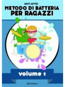 Metodo di batteria per ragazzi – Vol.1