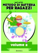 Metodo di batteria per ragazzi – Vol.2